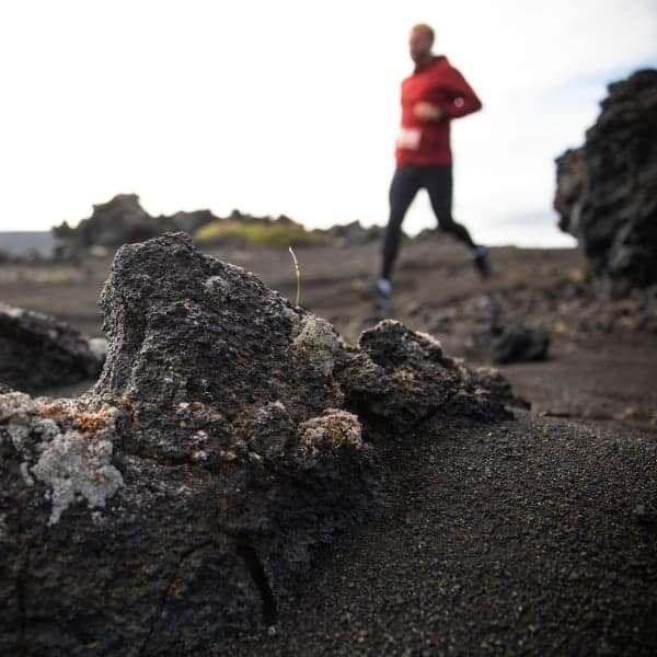 Maratón de los Volcanes de Islandia