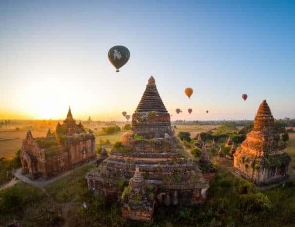 Maratón de los Templos de Bagan